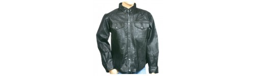 Casual Leather & Biker Shirts