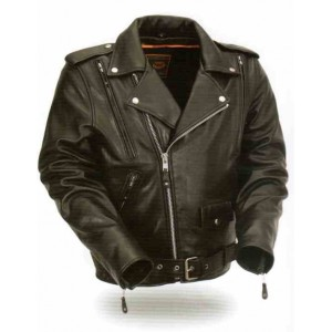 Men's Vented Classic Motorcycle Jacket