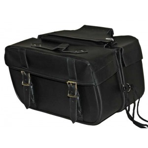 Vance Medium Saddlebag VS-218 Plain