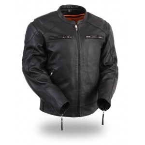 Men's Vented Jacket with Side Stretch