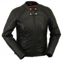 Ladies Racer Style Jacket