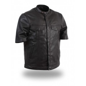 Men's Leather Shirt