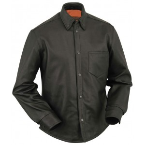 Men's Leather Concealment Shirt