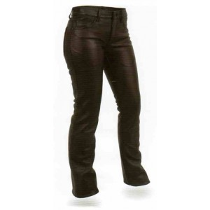Women's Five Pocket Leather Jean