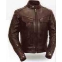 Women's Dual Utility Pocket Leather Jacket from Xpert Performance