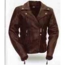 Women's Boulevard Leather Motorcycle Jacket from Xpert Performance